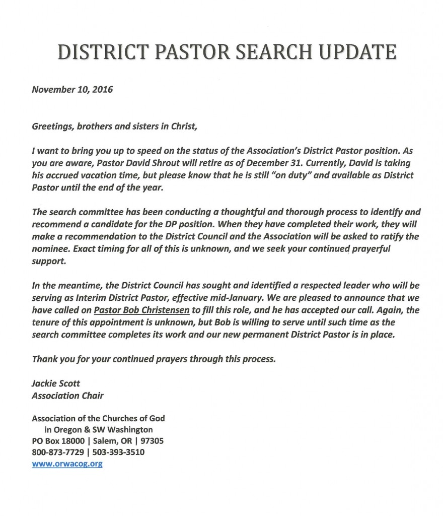 district-pastor-search-update-2016