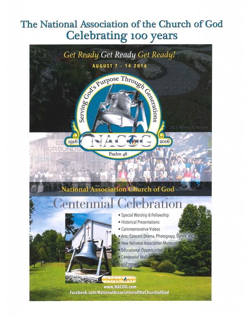 NACOG Centennial Celebration, 2016
