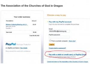 PayPal Sample