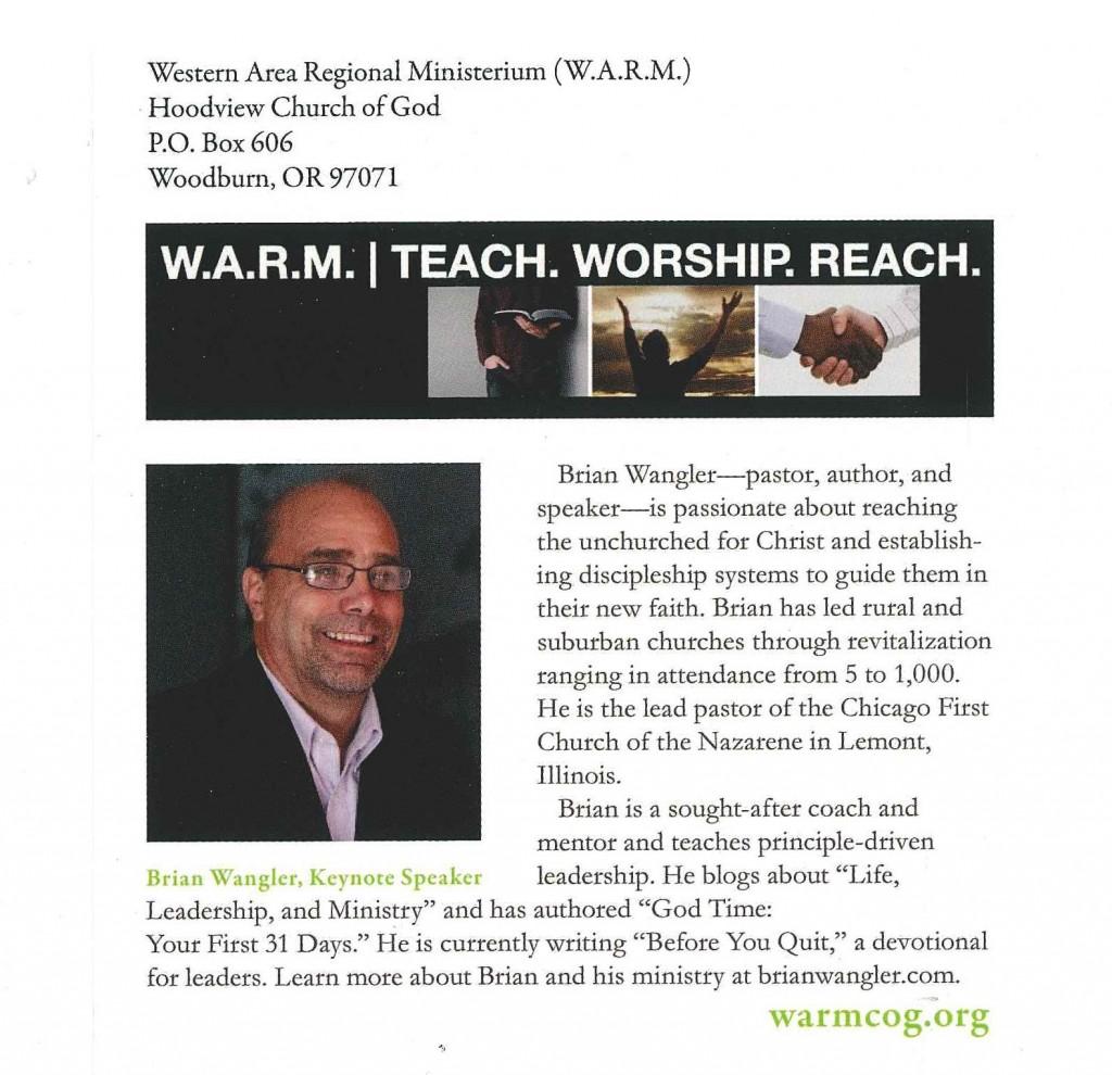 W.A.R.M. 2017, Pg. 2