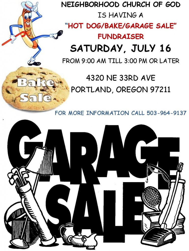 Hot Dog_Bake_Garage Sale